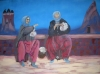 spinnende vrouwen in Cappadocië